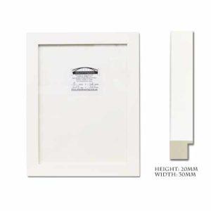 White Non-ad 30 mm